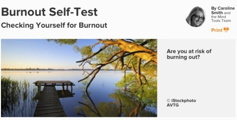 BurnoutSelfTest